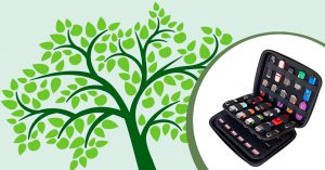 ORGANIZE HANDOUTS AND THUMB DRIVES FOR GENEALOGY